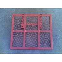Wholesale Safety Powder Coated Steel Trap Door Brick Guards For Scaffolding Ladder Access from china suppliers