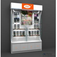 Wholesale New Xiaomi retail store design of Mobile phone Wall cabinet and pad display LED light counters from china suppliers