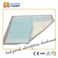 Wholesale Eco Friendly Non Woven Disposable Absorbent Pads , Disposable Under Bed Liner Pads from china suppliers