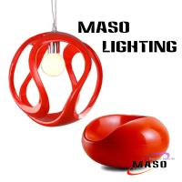 Wholesale Modern Resin Cover Pendant lamp Fittings S Round Shape Shade from china suppliers