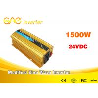 Wholesale Car Power Inverter dc to ac 12v/24v 220v pure sine wave small inverter 1500watt from china suppliers