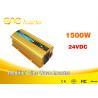Buy cheap Car Power Inverter dc to ac 12v/24v 220v pure sine wave small inverter 1500watt from wholesalers