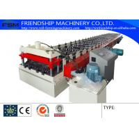Quality 620/700/914mm Covered Width Floor Deck Roll Forming Machinery With 5.5KW Hydraulic Power And 12Mpa for sale