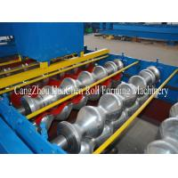 Wholesale 1250 Width Metal Roll Forming Machines / 15 Rows Tile Making Machinery from china suppliers