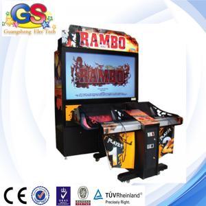 Buy cheap RAMBO shooting game machine arcade game machine from wholesalers