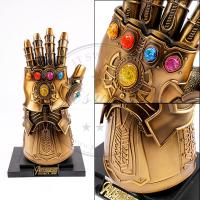 China Marvel Props Avengers Infinity War Infinity Gauntlet LED Light Thanos Gloves on sale