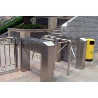 Wholesale LED Indicate Access Control Tripod Turnstile Gate / CE Waist Height Turnstiles from china suppliers