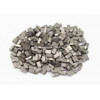 Wholesale High Wearable Tungsten Carbide Saw Tips For Hardwood , Carbon Steel , Cork, YG6 ,YG6X from china suppliers