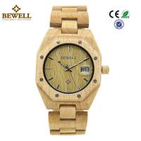 Wholesale Custom Stable Personalized Mens Wooden Watch Environmentally Friendly from china suppliers