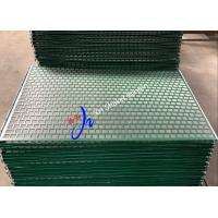 Wholesale 1050 * 697mm Circular Oil Shaker Screen With Hook Strip FLC 48-30 from china suppliers