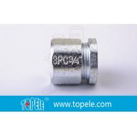 Wholesale 3/4 Inch IMC Conduit And Fittings , Three Piece Malleable Iron Coupling from china suppliers