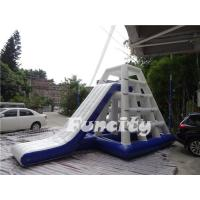 Wholesale 6.5mLx4mWx4.2mH Inflatable Water Toys 0.9mm PVC Tarpaulin Water Jungle Jim from china suppliers