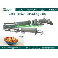 Wholesale Fully stainless steel 304 breakfast cereals corn flakes production line from china suppliers