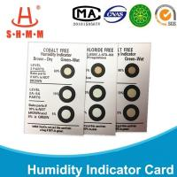 Wholesale Cobalt Free Three Dots Moisture Indicator Paper Brown To Green For Electronics from china suppliers