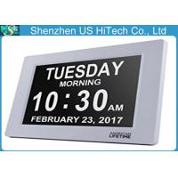 Wholesale Large Time Day And Date Clocks For Alzheimer'S 8 Inch Display Ratio 4:3 from china suppliers