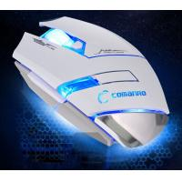 Wholesale 2000 High DPI Wired Gaming Mouse , blue led gaming mouse 4.5V - 5.5V from china suppliers