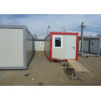 Wholesale Prefab Flat Pack Living And Office Spaces For Mobile Workers For Construction Sites from china suppliers