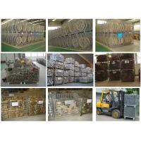steel cargo Basket/Wire Mesh Box/Collapsible Warehouse pallet/mobile Cages With Fork Guide