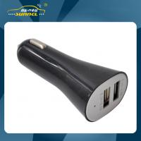 Quality 2.1A Double USB Car Power Charger Adapter Plug for Apple and Samsung Device for sale
