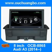 Wholesale Ouchuangbo multimedia kit radio stereo Audi A3 support USB SD MP3 media player OCB-8865 from china suppliers