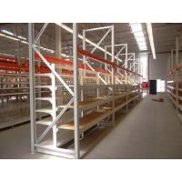 Wholesale Metallic Supermarket Pallet Rack Shelving , Heavy Duty Warehouse Racks from china suppliers
