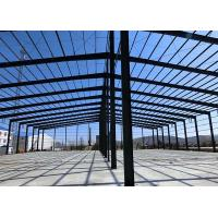 Quality Pre - Engineered Metal Workshop Building Light Steel Good Seismic Performance for sale