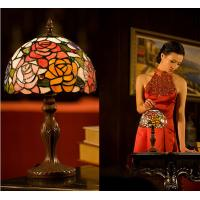 Wholesale 8 inch Bedroom Table lamp  bedside lamp wedding decorate the room rose small night lights from china suppliers