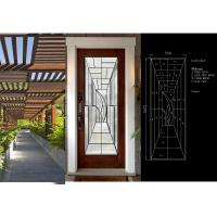 Wholesale Primed White Decorative Panel Glass  For Doors , Sidelights , Transoms from china suppliers