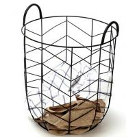 Wholesale Modern Other Furniture Metal Wire Laundry Basket Outdoor Backyard Furniture from china suppliers