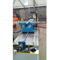 Wholesale Single line of cold roll forming machine for C and U profile with punching devices from china suppliers