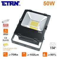 Wholesale ETRN Brand 2835 LED Meanwell Power Supply 50W LED Floodlights LED Outdoor Spotlights Cast from china suppliers