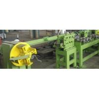 Wholesale Automatic Flat Steel Bar Straightening Machine , Cut To Length Line Machine from china suppliers