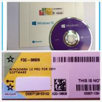 Quality Windows 10 Pro Software OEM Box DVD with coa License , online activation for sale
