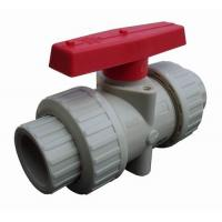 Wholesale White PP Housing and Red PP Handle Ball Valve Widely Used in Pump from china suppliers