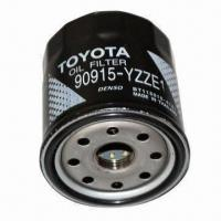 Wholesale Oil Filter with 90915-YZZE1 ORM, 20gpm Maximum Flow and 50psi Maximum Working Pressure from china suppliers