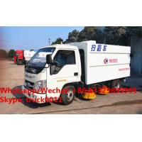 Wholesale Factory sale high quality good price forand 4*2 LHD street sweeper truck, HOT SALE! lowest price forland road sweeper from china suppliers
