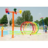 Wholesale Mothproof Spray Rings Amusement Park Equipment With Fiber Glass And Steel Pipe Material from china suppliers
