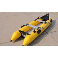 Wholesale 2 Person 0.9mm PVC Inflatable Sea Kayak For Eskimo Hunter , CE Certificate from china suppliers