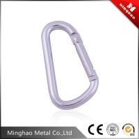 Wholesale Custom made aluminum mountain climbing hook ,aluminum carabiner hook from china suppliers