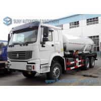 Wholesale 18000L Vacuum Tanker street cleaning vehicles 6x4 HOWO RHD Sewage Suction Truck from china suppliers