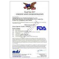 Guangdong Kareway Medical Technology Co., Ltd. Certifications