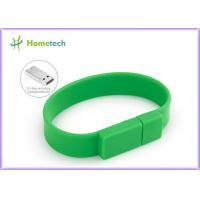 Wholesale Promotional Gift  Silicone USB Wristband USB Flash Drive 4GB / 8GB from china suppliers