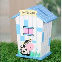 Wholesale wholesale wooden money box for children,flower print from china suppliers