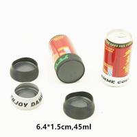 Wholesale OEM Reusable Round Beer Holder Cooler Hdpe Hard Plastic 6.4cm X 1.5cm from china suppliers