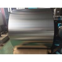 China Plain / Bare Air Conditioner Aluminum Coil 0.28MM Thickness For Fin Stock on sale