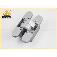 Wholesale Three Way Anselmi Door Adjsuatble Invisible Hinges Hardware 180 Degree from china suppliers