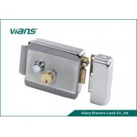 Wholesale Fail-safe  Steel Electric Control Rim Lock with a key and button from china suppliers