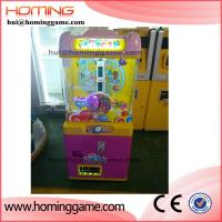 Wholesale coin operated game machine chocolate claw crane game machine Candy vending Machine(hui@hominggame.com) from china suppliers