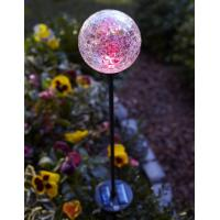 Wholesale Color Changing Solar Glass Ball Fixture light from china suppliers