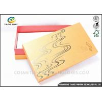 Wholesale Bright Colored Cardboard Gift Boxes Matt Laminated Finishing 25x15x3cm Dimension from china suppliers